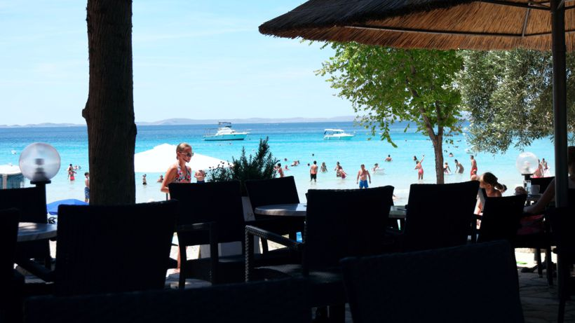 Beach Slavica auf Murter